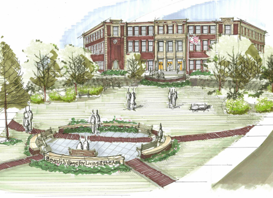 Briscoe Village for Living & the Arts (BVLA), Beverly – Supportive Senior Housing  (85 Units)